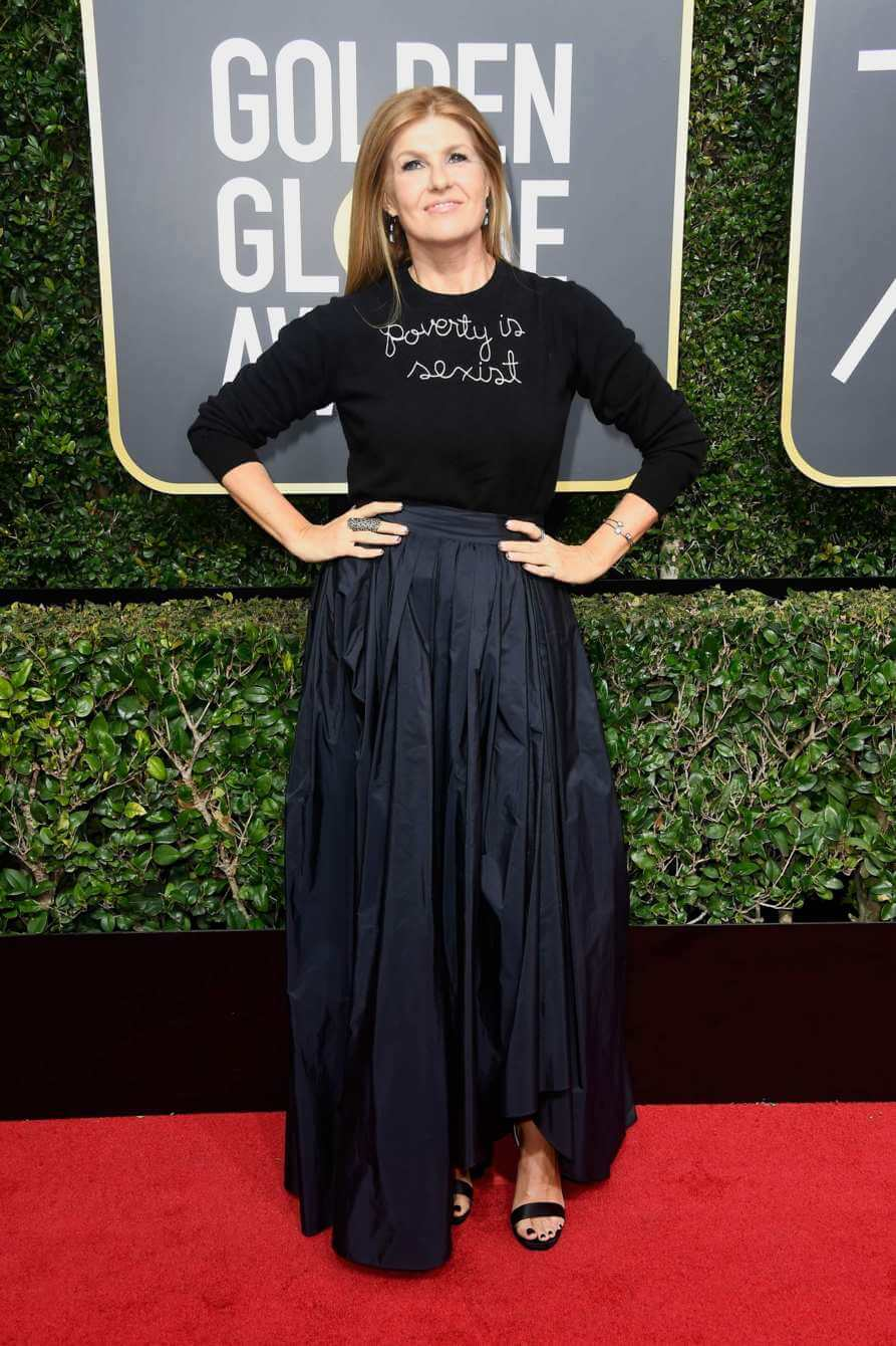 Connie Britton Golden Globes 2018