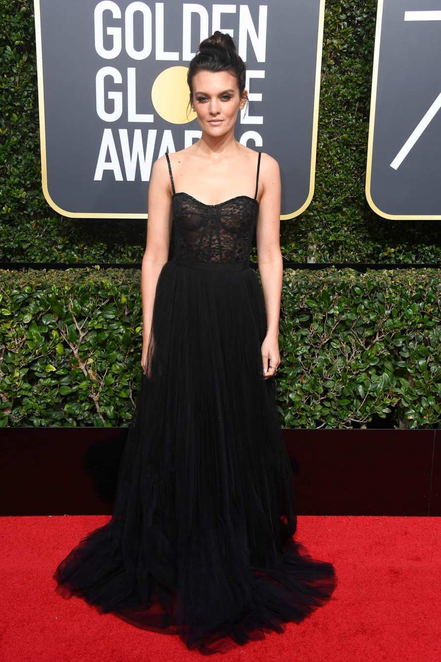 Hollywood goes black on the golden globes 2018 red carpet - Golden globes red carpet ...