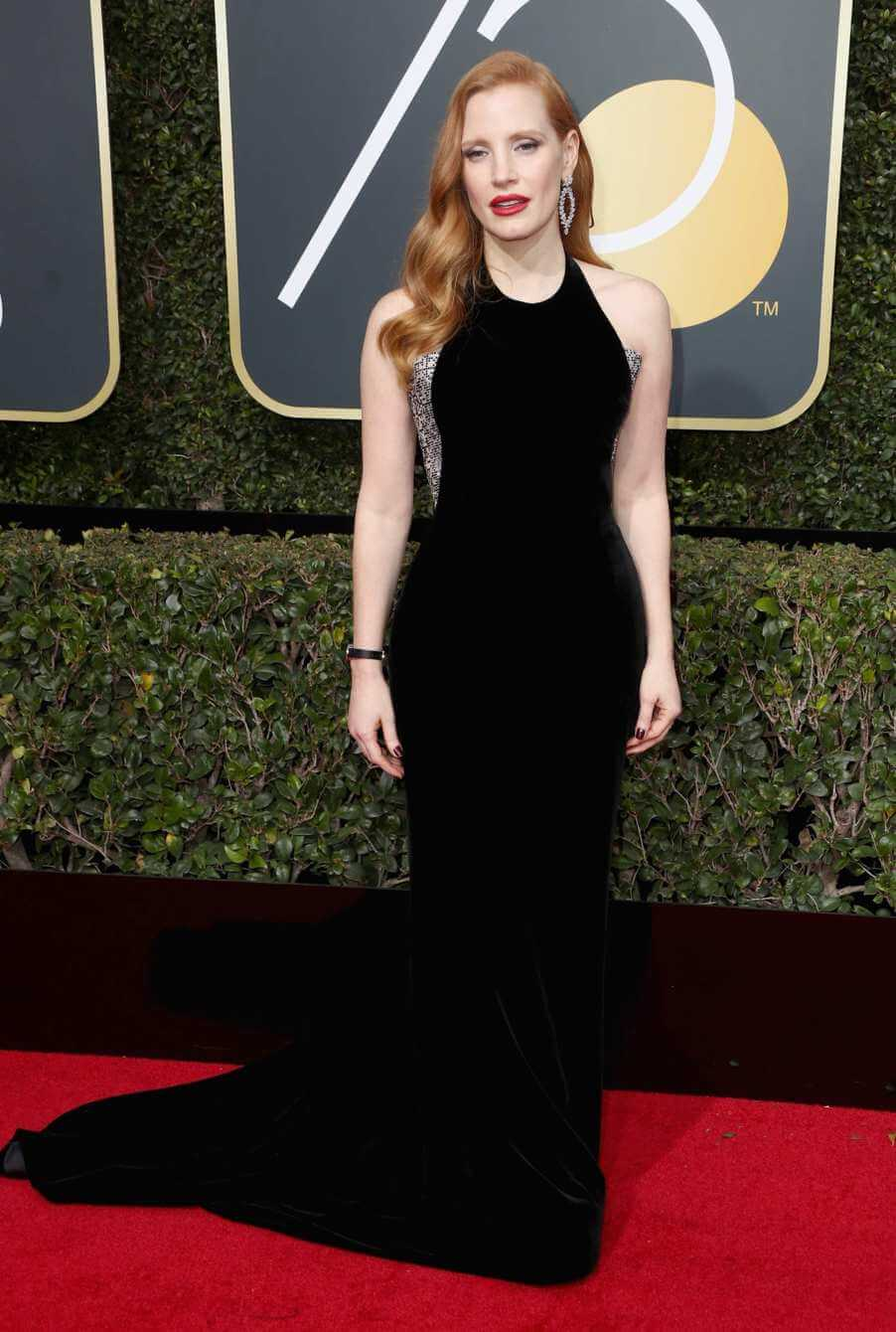 Jessica Chastain - Golden Globes 2018