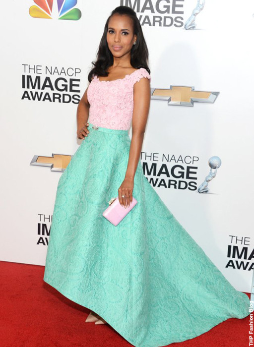 Kerry arrives at the NAACP Image Awards.