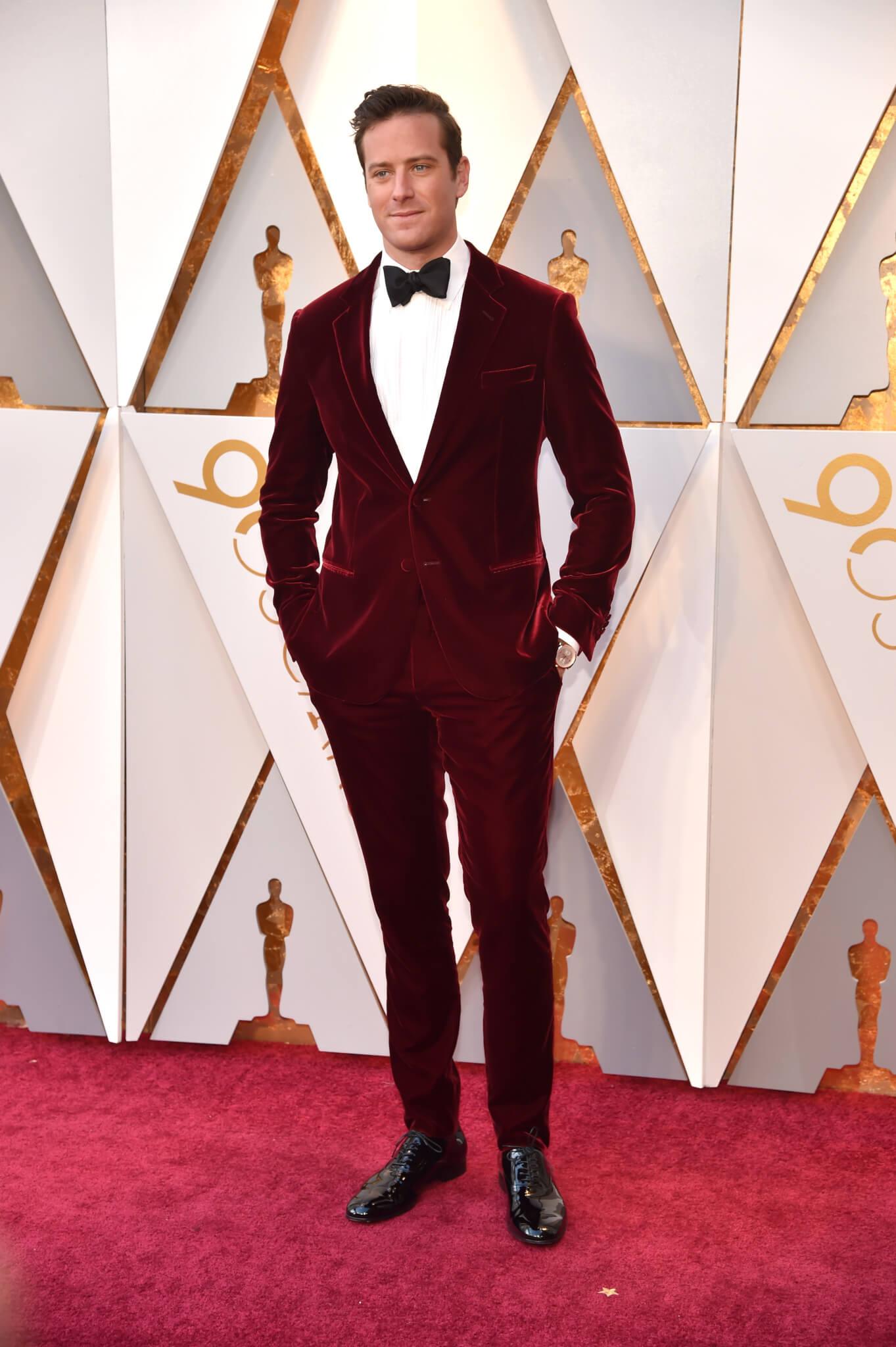 Armie Hammer - Oscars 2018