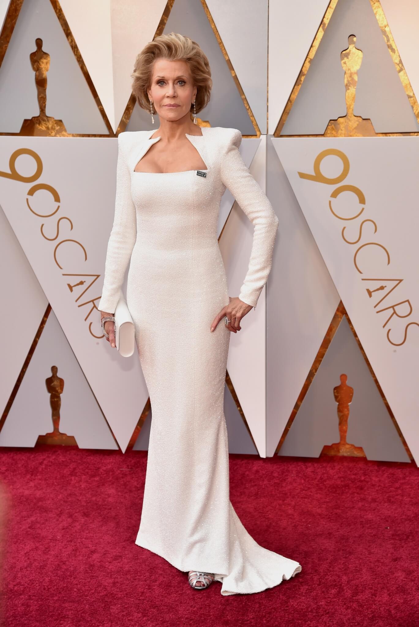 Jane Fonda - 2018 Oscars