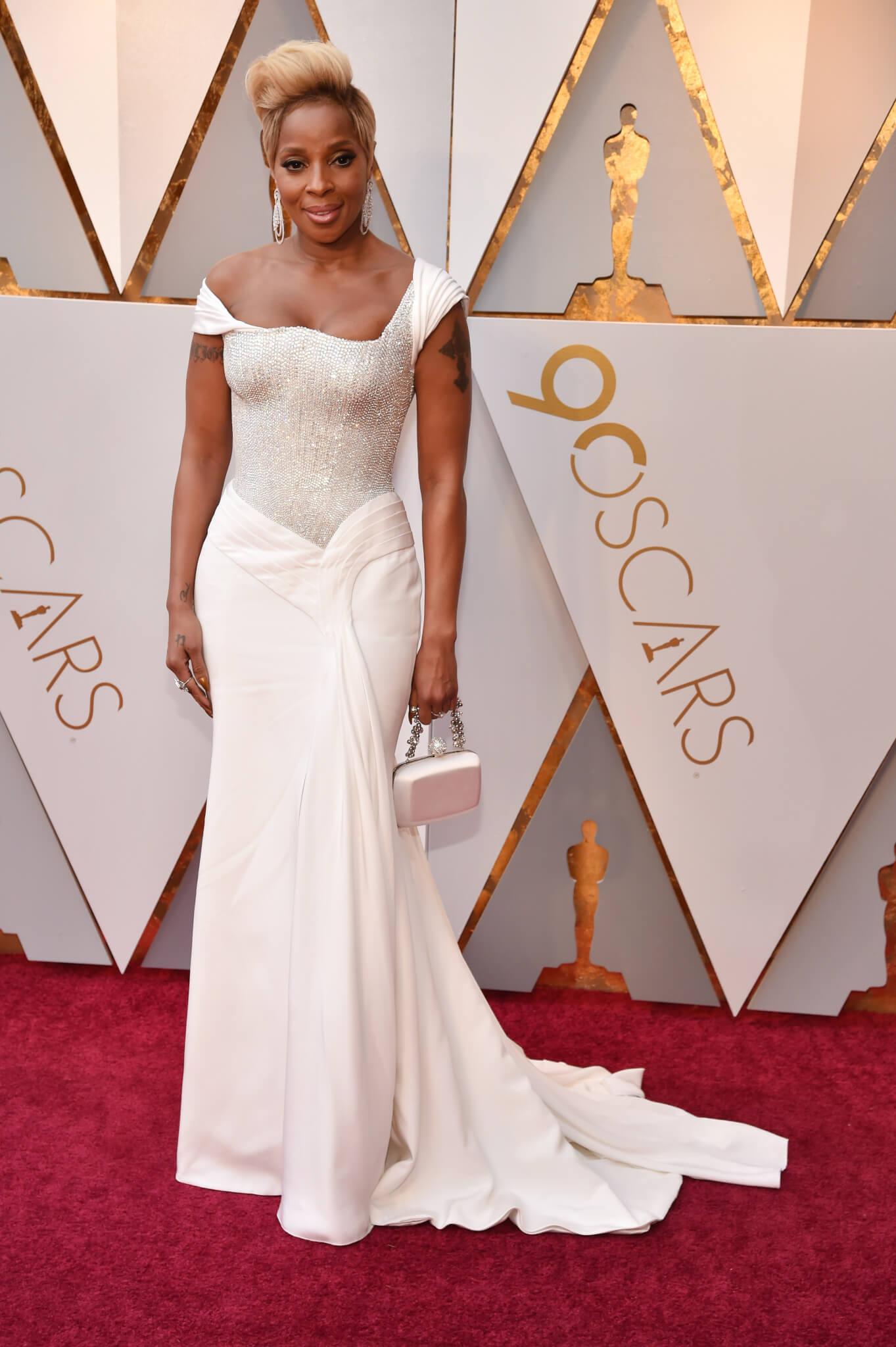 Mary J Blige - Oscars 2018