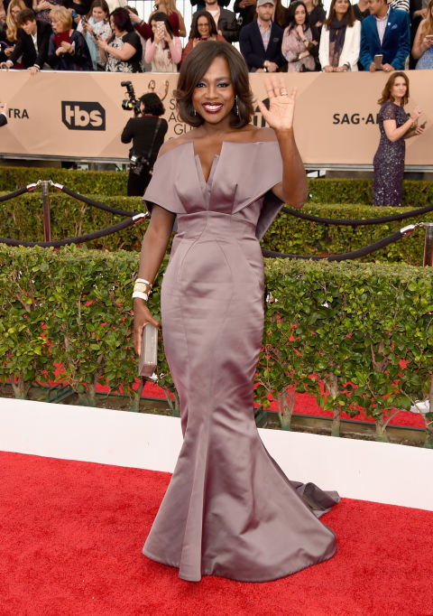 SAG-Awards-2016-Red-Carpet-Viola-Davis