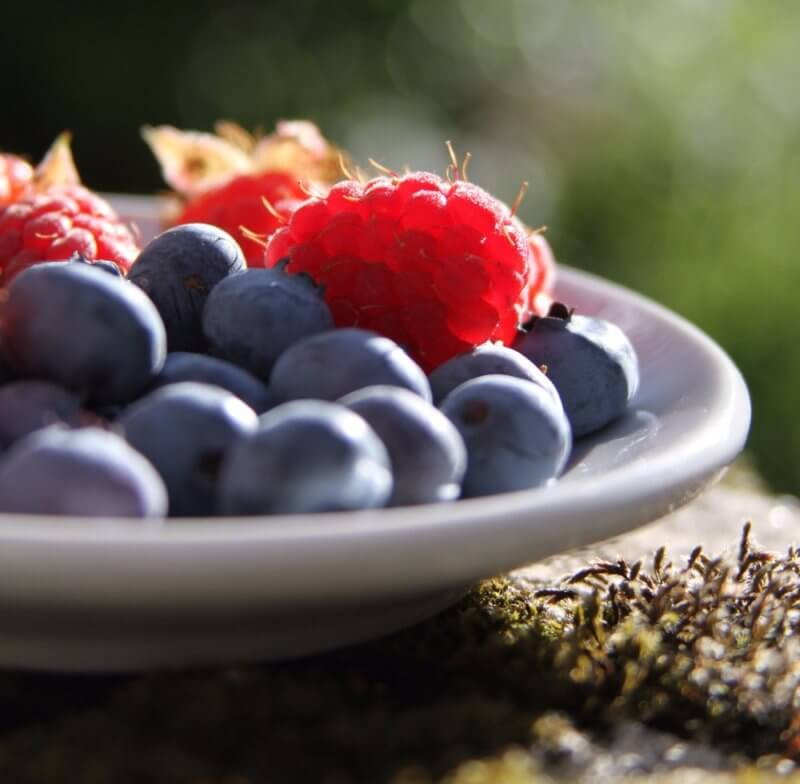 trimming the fat by eating clean - fresh berries