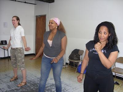 Patranila rehearses for American Candy sketch comedy show