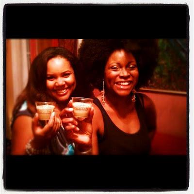 girls night in with godiva chocolate vodka