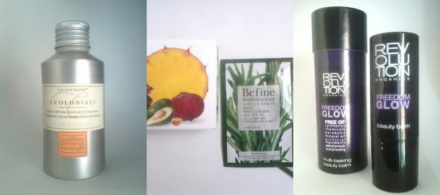 Birchbox: BeFine, i coloniali, revolution organics