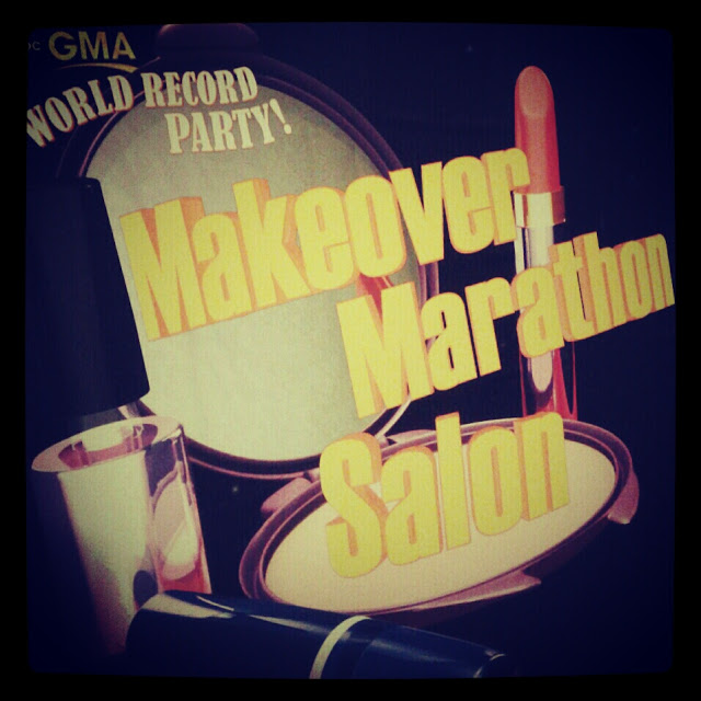Makeovers and a World Record