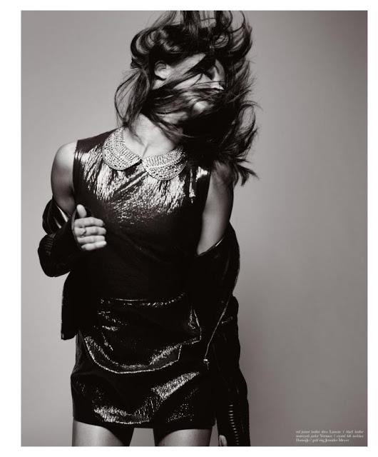 Zoe Saldana for Malibu Magazine