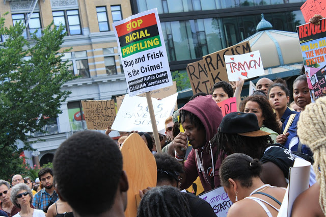 Black Lives Matter, New Yorkers march for Trayvon