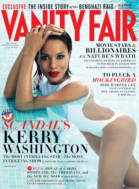 Kerry Washington on Vanity Fair