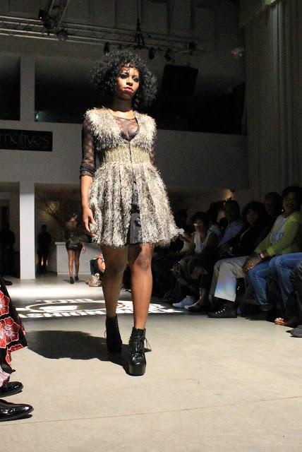 gothix runway show - fro fashion week