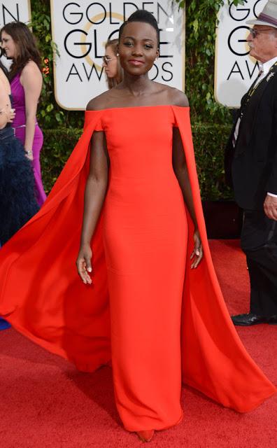 Lupita Nyong'o is stunning at the Golden Globes