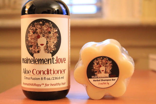 mainelement:love shampoo bar and conditioner