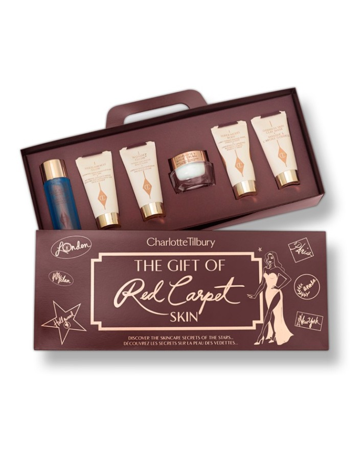 Holiday Gift Sets for Beauty Lovers - Charlotte Tilbury Red Carpet Skin