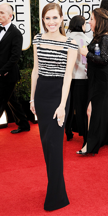 allison-williams-golden-globes-2014