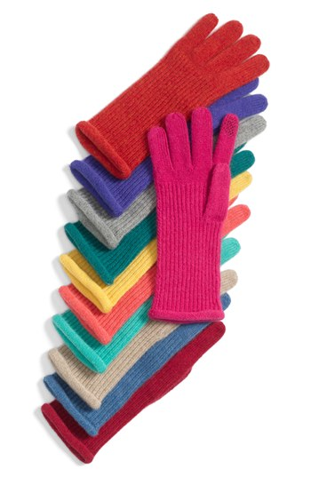 Touch Tech Cashmere Gloves from Nordstrom