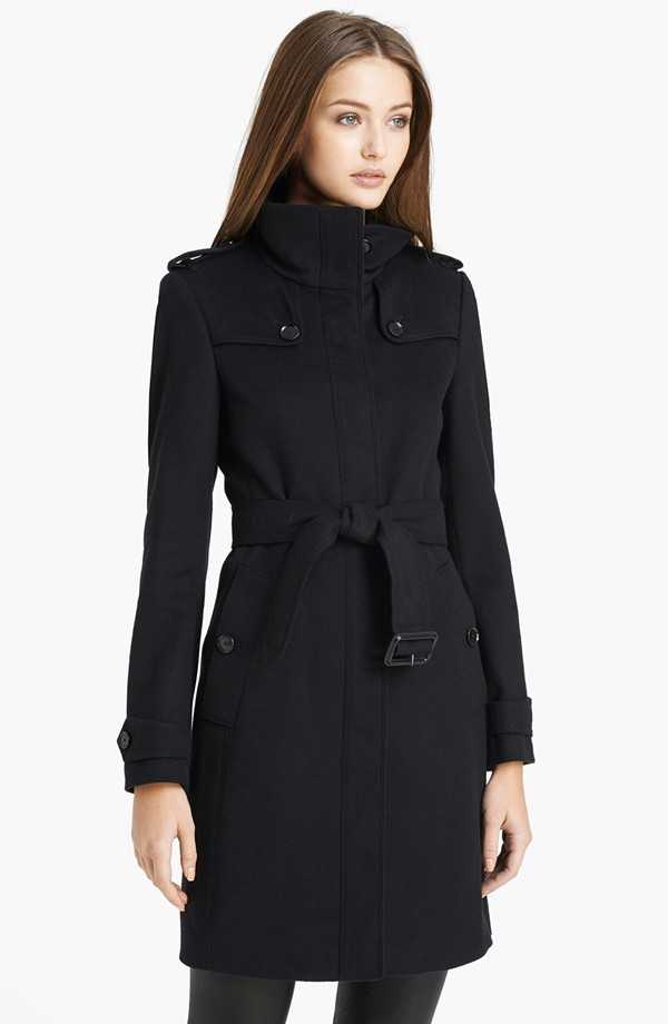 burberry cashmere and wool coat
