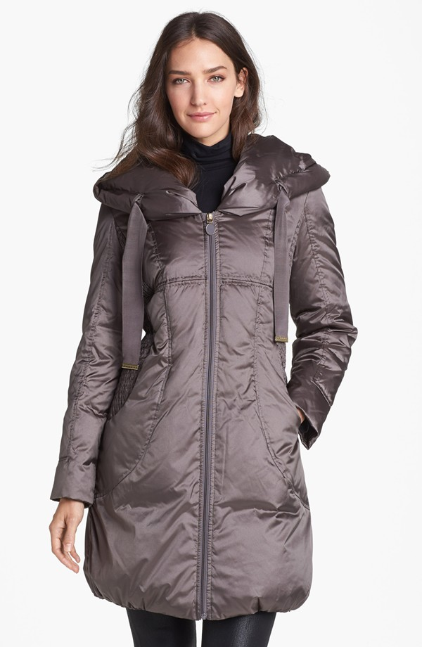 tahari winter coat