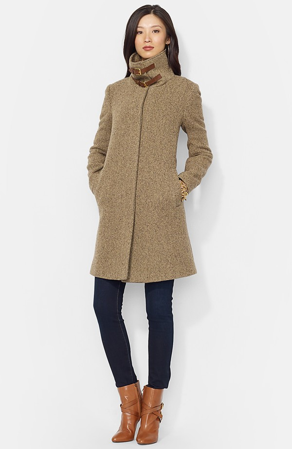ralph lauren wool coat