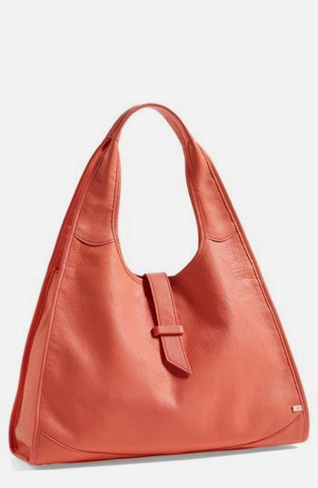 SJP Collection Sarah Jessica Parker New Yorker Leather Hobo