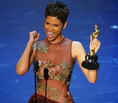 Halle Berry wins Academy Award for Best Actress. Why not me?