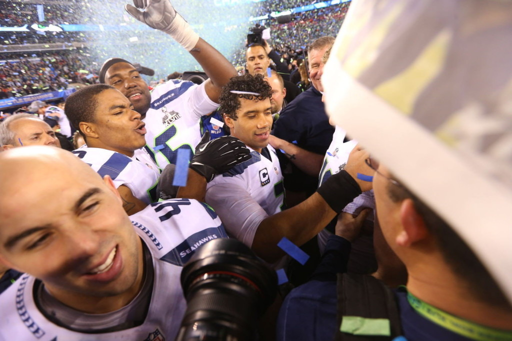 Russell Wilson wins Superbowl XLVIII with an attitude of why not me