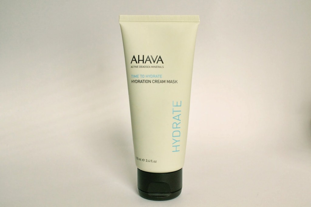 A Mega Dose of Moisture With Ahava Hydration Cream Mask