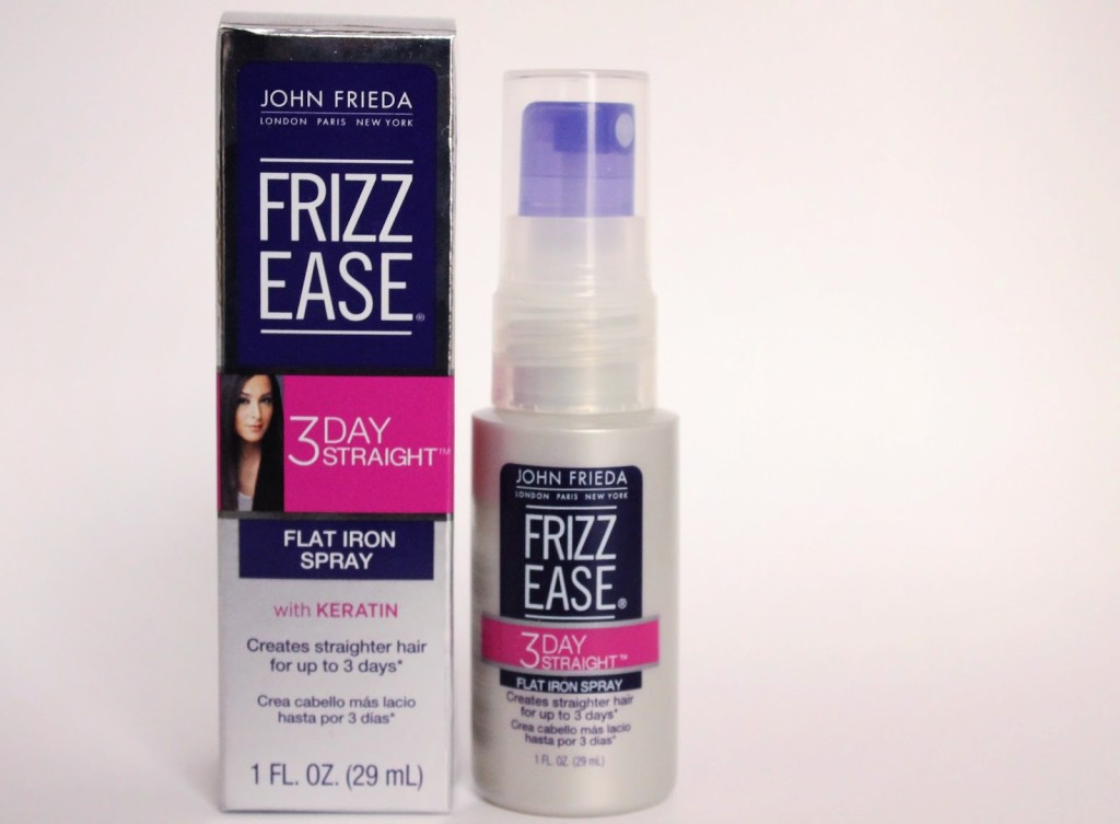 Frizz Ease 3-Day Straight Flat Iron Spray and Heat Protectant courtesy of Influenster