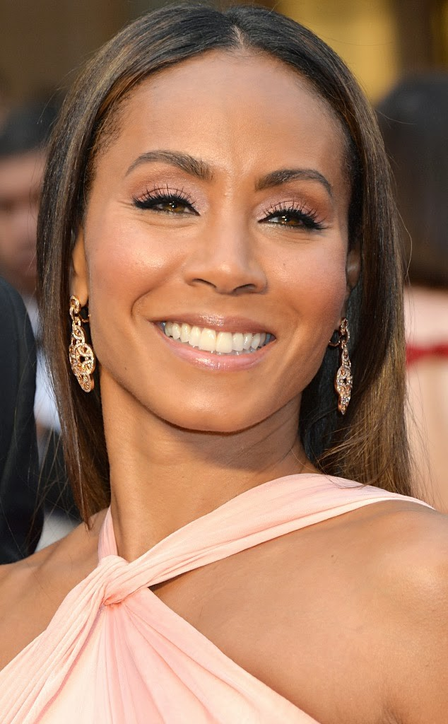 Best hair and makeup beauty moments of the Oscars 2014. Jada Pinkett Smith