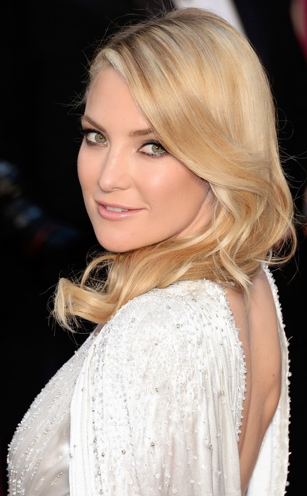 Best beauty, hair and makeup of Oscars 2014. Kate Hudson. Hollywood Glamour