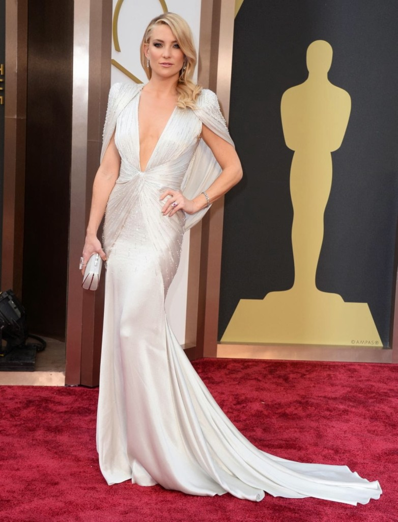 Kate Hudson in Atelier Versace, Academy Awards, Oscars 2014