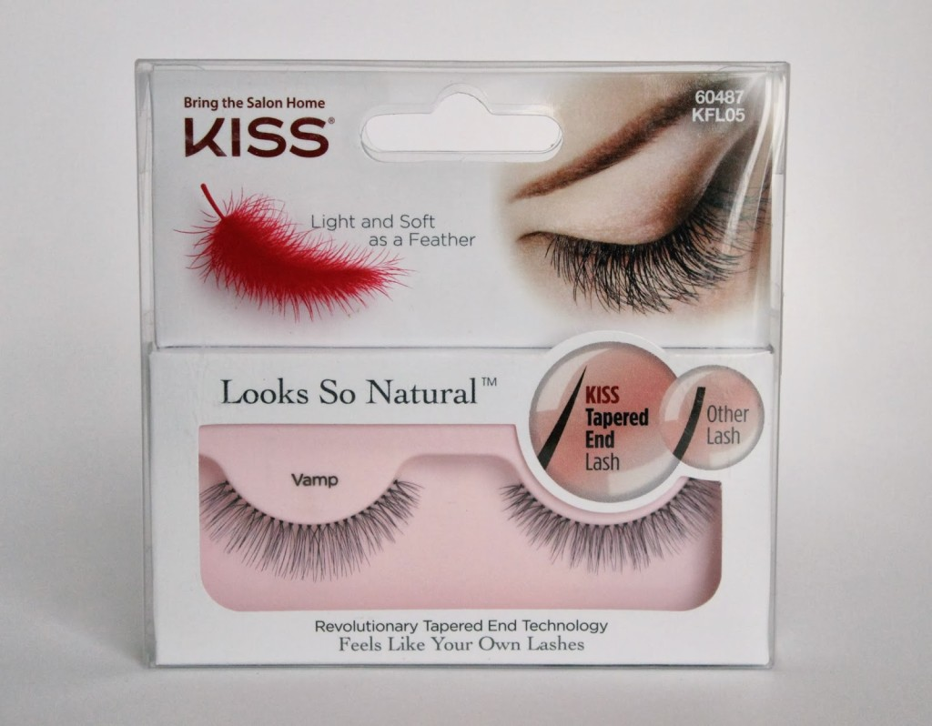 KISS Looks So Natural Lashes courtesy of Influenster