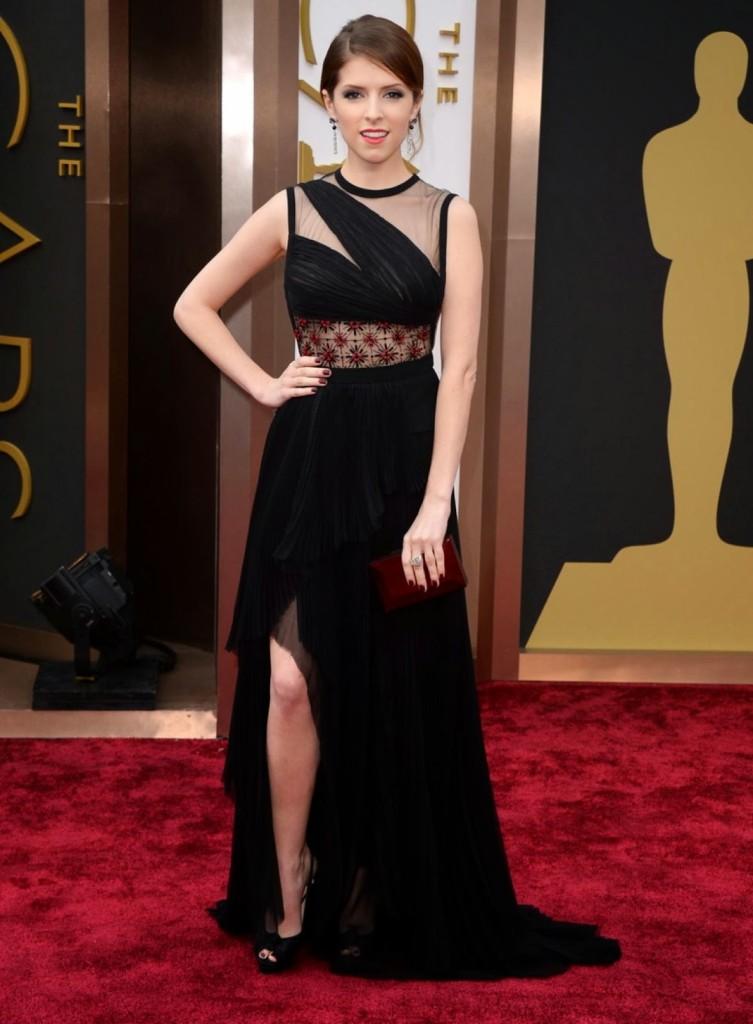 Anna Kendrick in J Mendel, Academy Awards, Oscars 2014