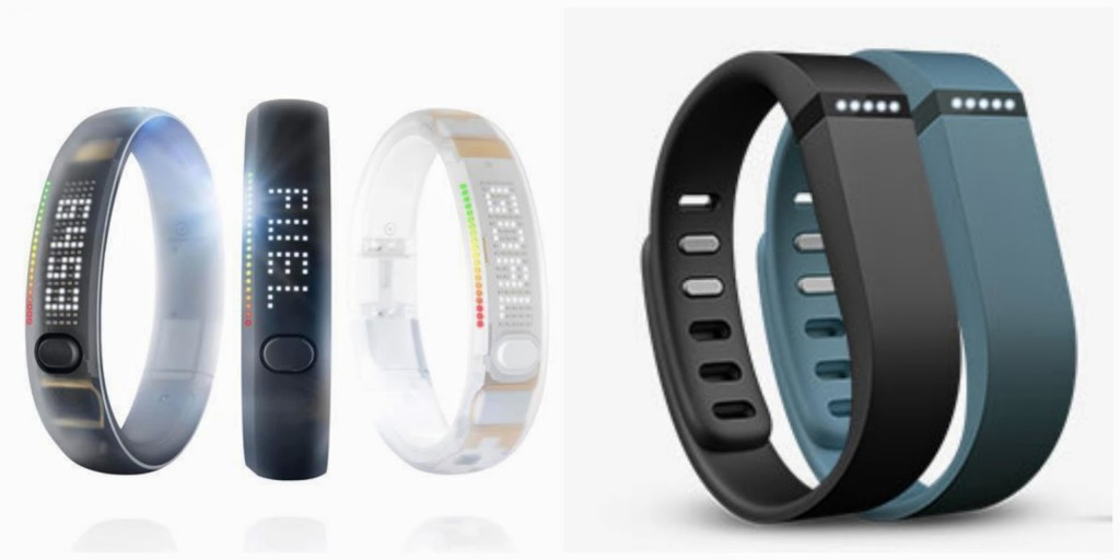 Nike Fuel Band vs. FitBit Flex - get your run on.
