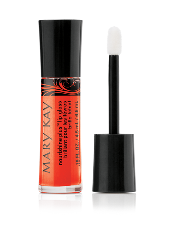 Mary Kay NouriShine Lip Gloss in Mango Tango - #MKGlam