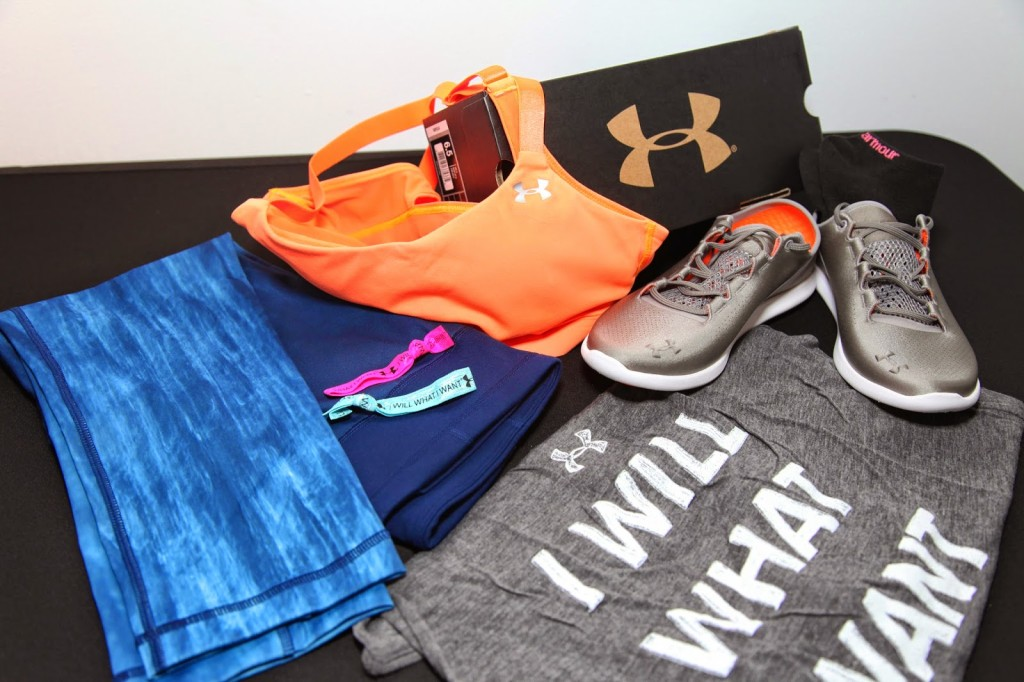 IWillWhatIWant gear from Under Armour