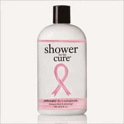 Breast Cancer Awareness ~ BCA ~ Philosophy Shower for the Cure Shampoo