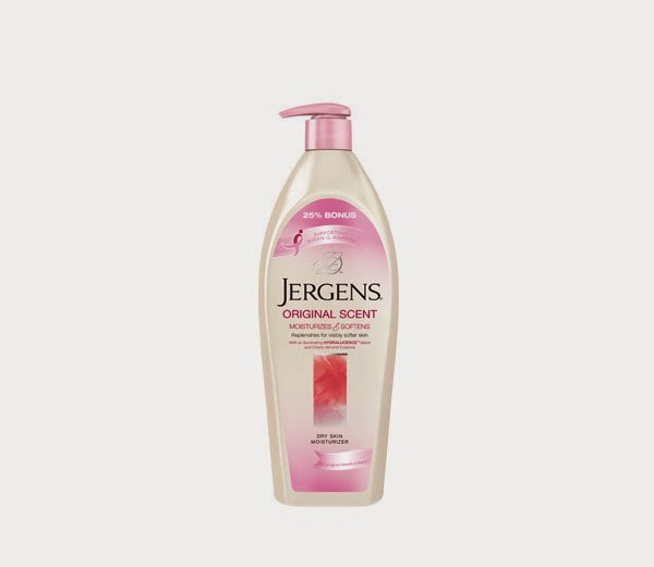 Beauty Products for Breast Cancer Awareness ~ Jergen's Original Scent Moisturizing Lotion