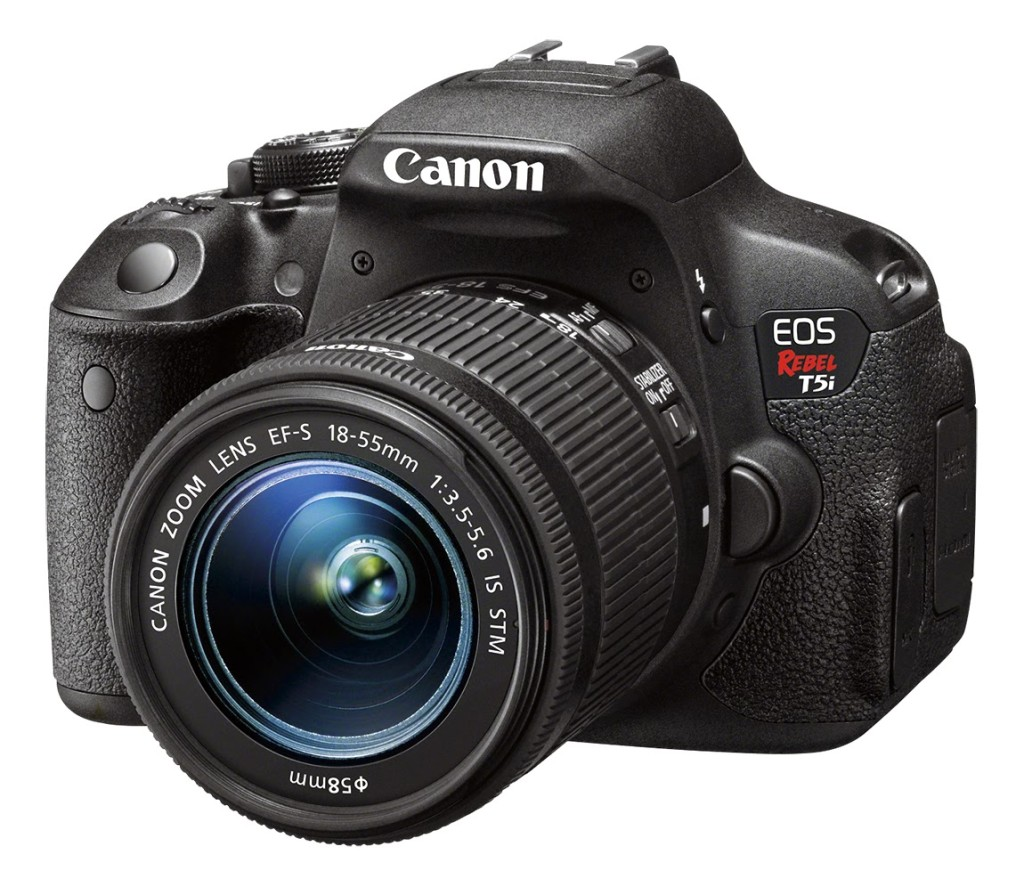 Canon T5i makes a great gift for photography lovers.