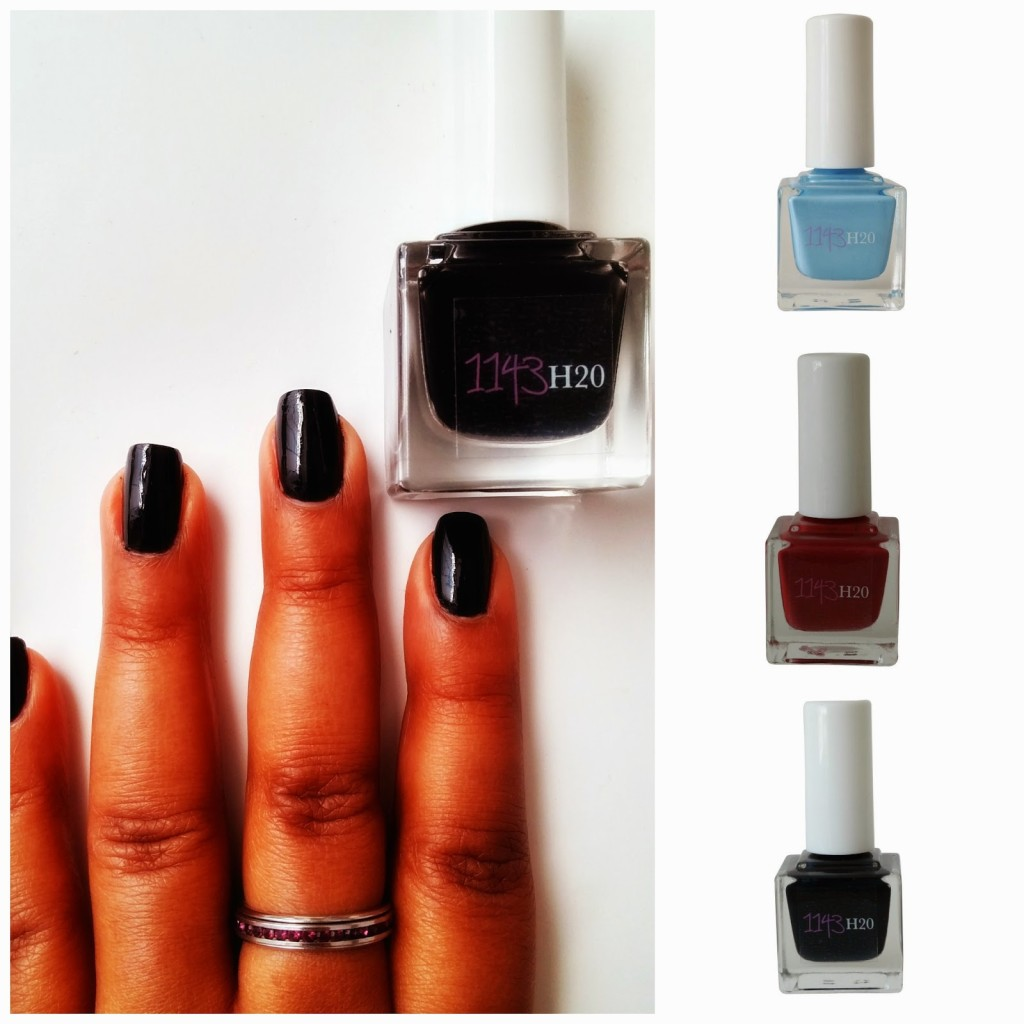 1143 H20 Nails introduces peel-off polish.