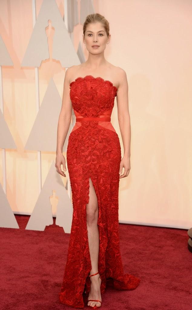 Red Carpet Arrivals - Oscars 2015 Best Dresses