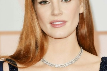 oscars-2015-best-beauty-red-carpet-jessica-chastain