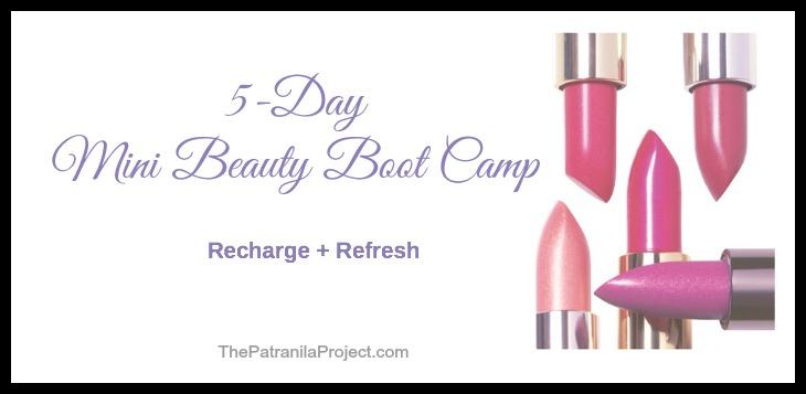 Patranila's-5-Day-Mini-Beauty-Boot-Camp
