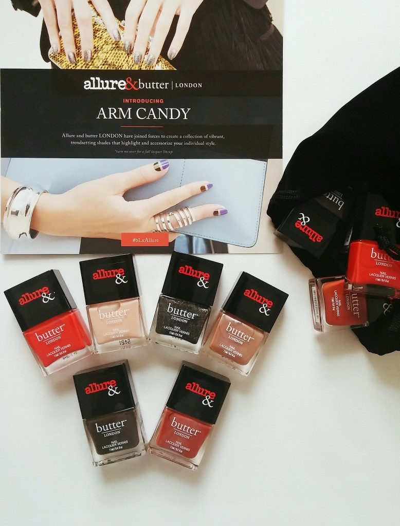 butter LONDON bLxAllure Arm Candy Collection