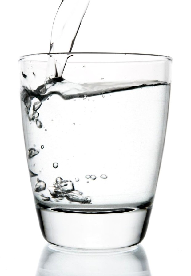 Drink more water as part of your morning beauty routine for a healthier complexion.