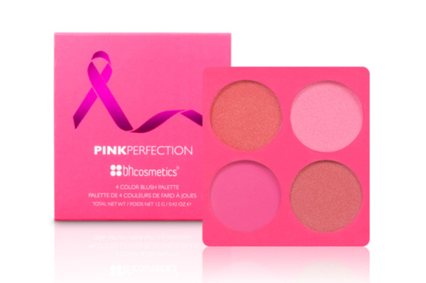 BH Cosmetics Pink Perfection. Only available in October, all proceeds are donated to the Young Survival Coalition.