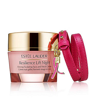 Estee Lauder will donate 20% of the retail price to the Breast Cancer Research Foundation from Sept 2015 through June 2016.
