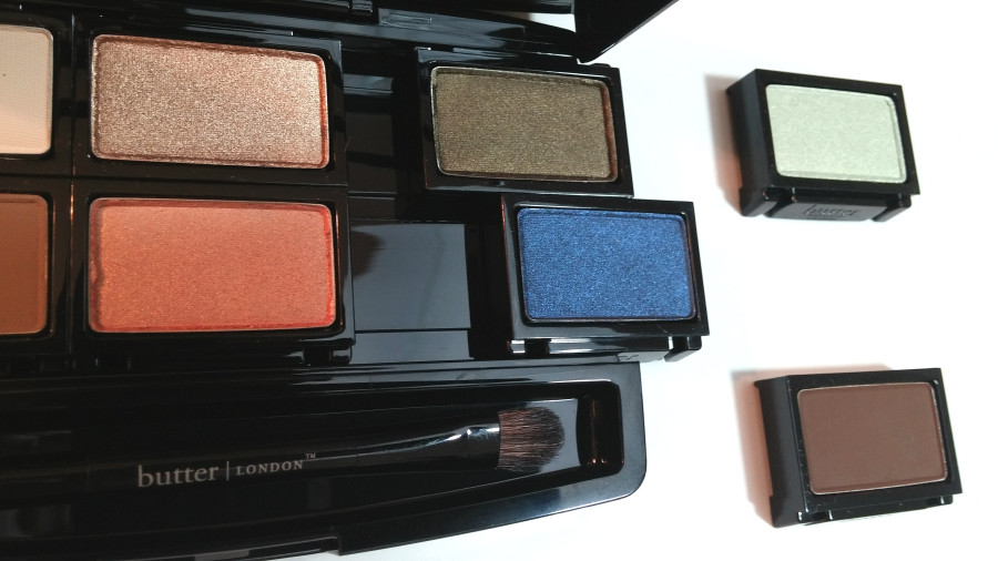 butterLONDON Shadow Clutch Customizable eye shadow palette for beauty on the go
